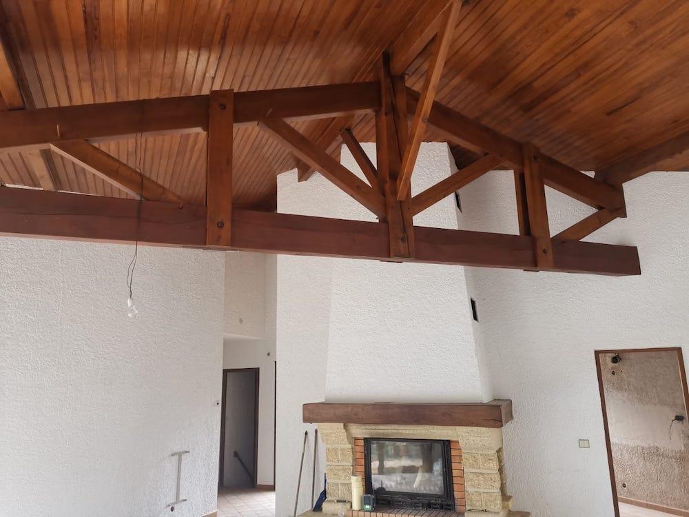 Peinture Interieure Maison en Renovation a Lacanau 11