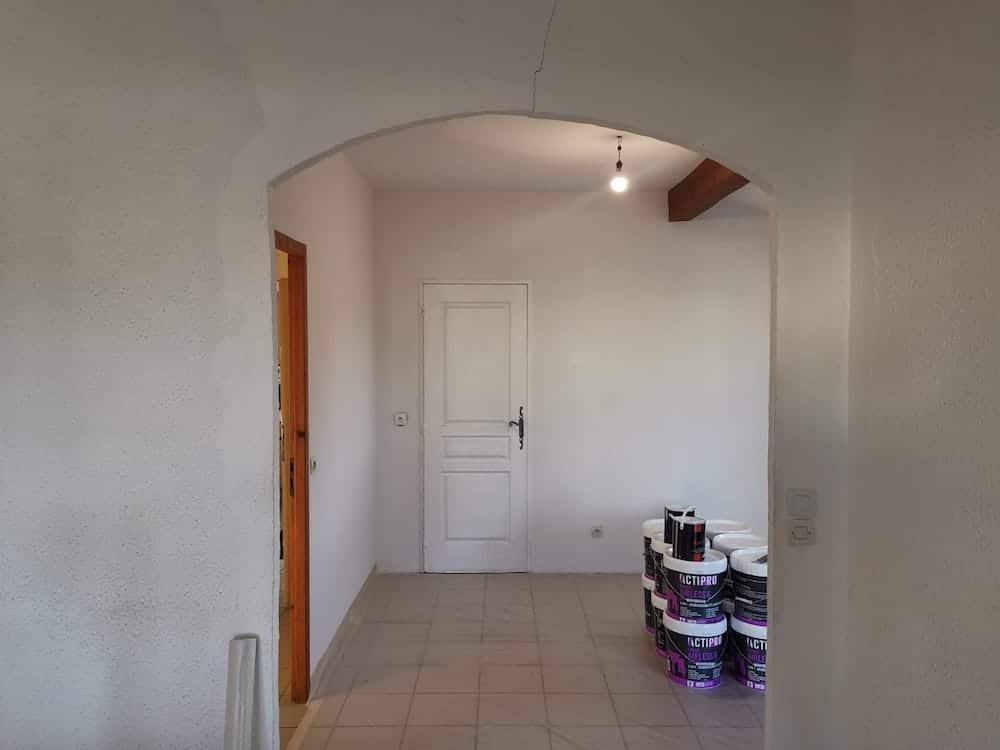 Peinture Interieure et Lissage Crepi a Lanton 2