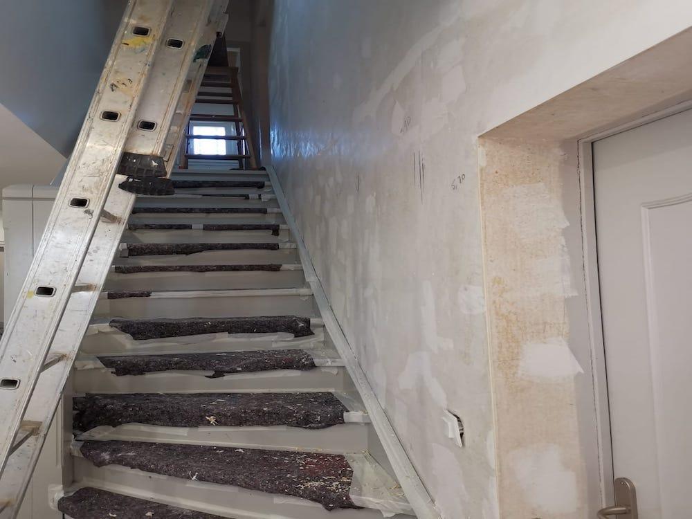 Refection Cage Escalier Palier Lanton 3