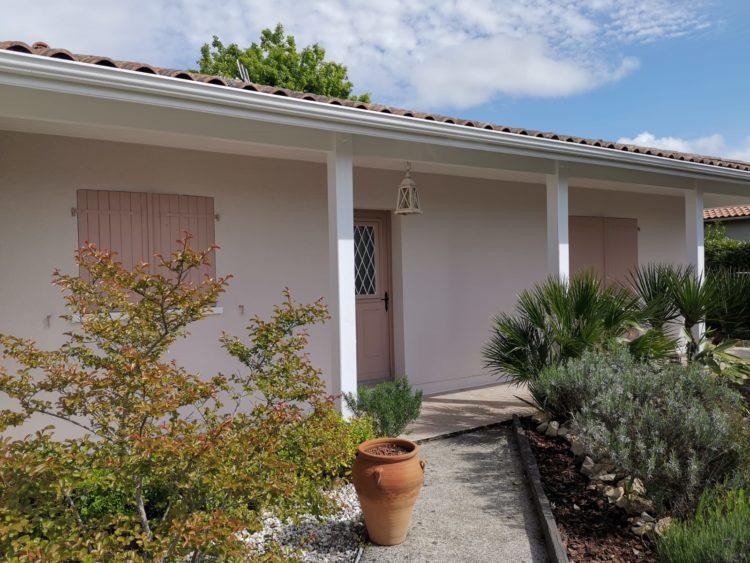 Ravalement Facade dune Villa a Gujan Mestras 4
