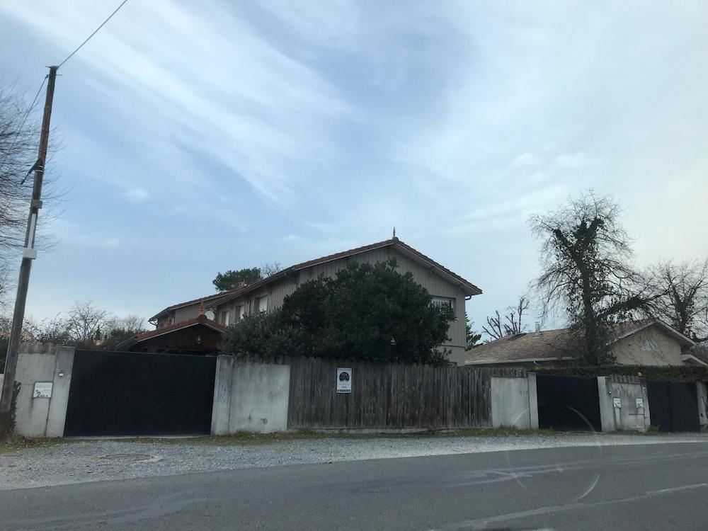 Ravalement Facade et mur de cloture a Lanton 9